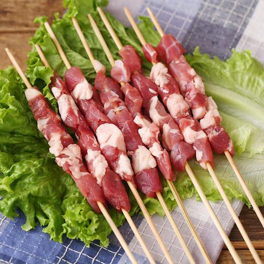 【冻品】新疆羊肉串/包 10只*25g 商品图0