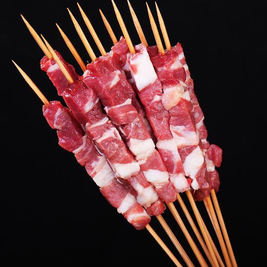 【冻品】新疆羊肉串/包 10只*25g 商品图1