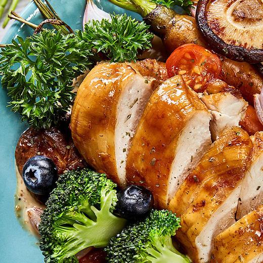 【半岛商城】优形低脂沙拉鸡胸肉100g*8袋 商品图0