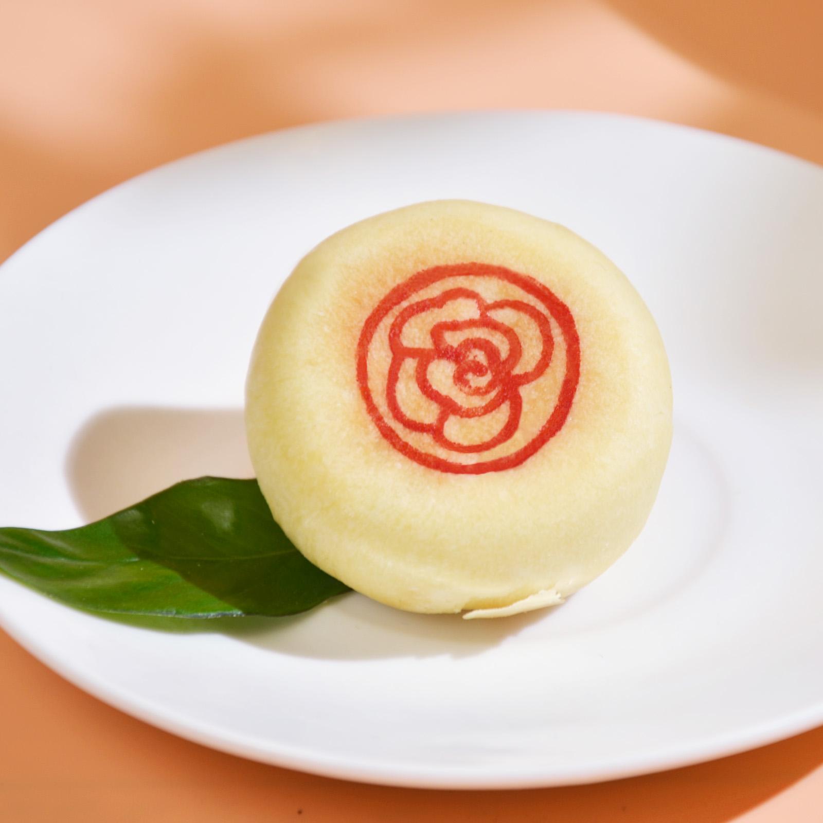 [原味玫瑰花饼]外皮香软 口感清爽 280g/盒(8个) 商品图4
