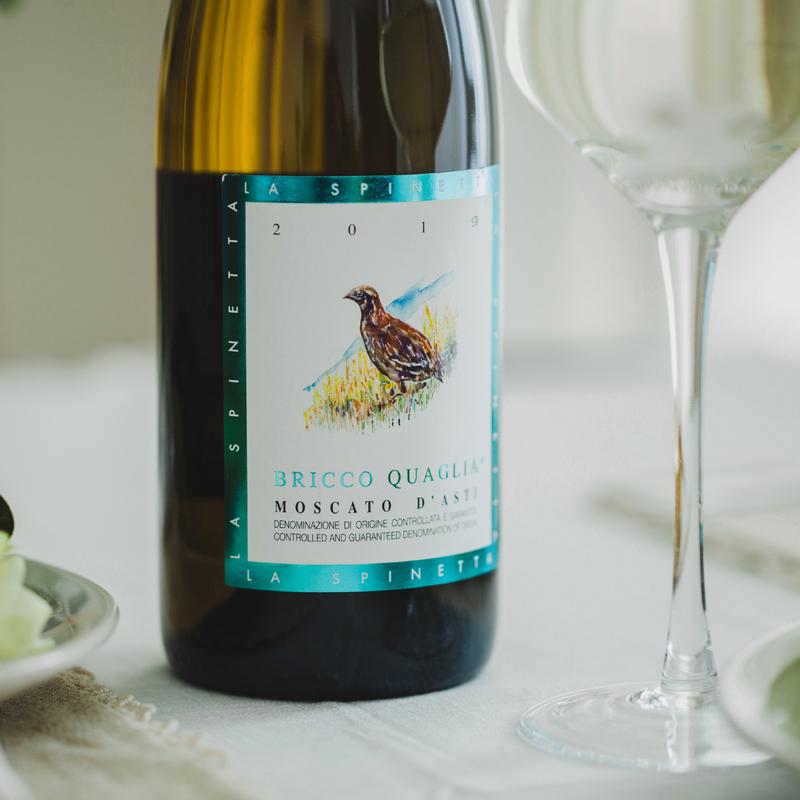 [诗培纳慕斯卡托阿斯蒂低醇白葡萄酒(小鸟)]意大利 犀牛庄 750ml 商品图3