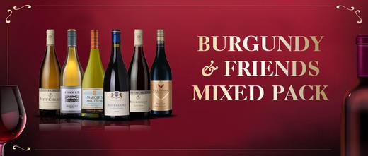 """【套装pack】""""勃艮第和它的朋友们 """"6支装葡萄酒 Burgundy & Friends 6Pack 商品图0"""