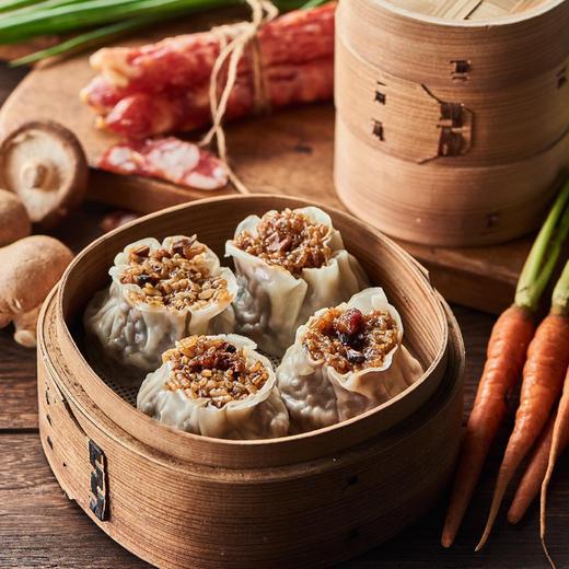 [糯米烧麦组合 香菇鲜肉/麻辣香肠/梅干菜/章鱼海鲜]四种口味 任意搭配 420g/6只/袋 共4袋(24只) 商品图7