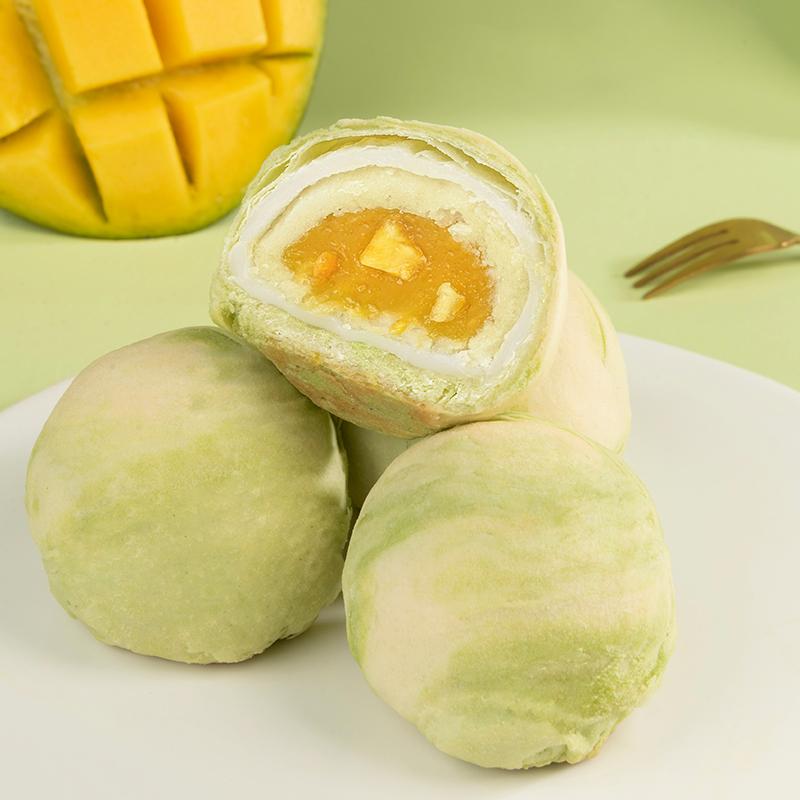 [芒果酥]酥软绵密 清甜微酸  55g/枚*6枚 商品图2