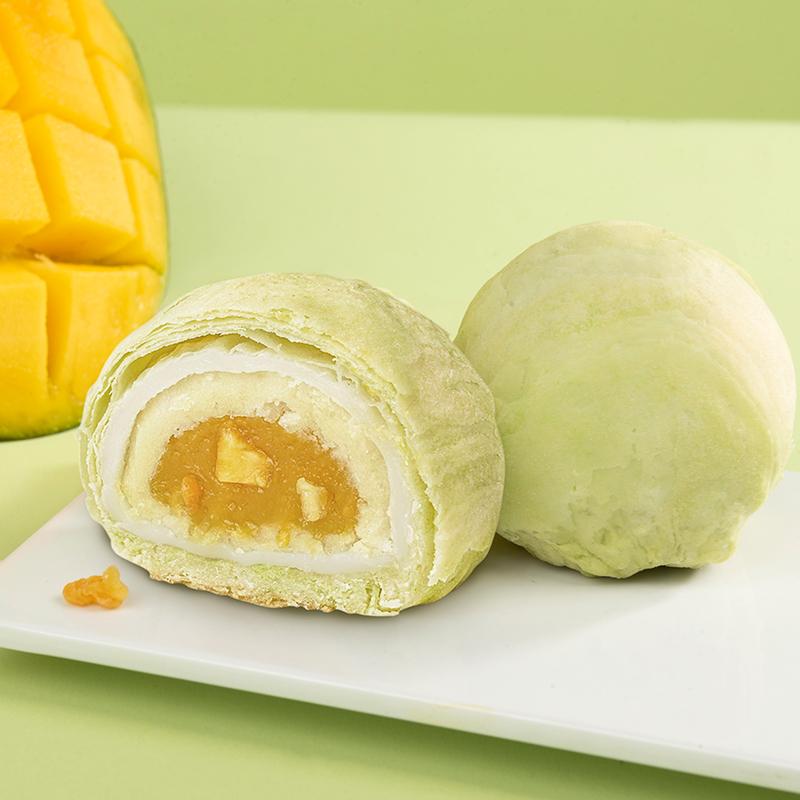 [芒果酥]酥软绵密 清甜微酸  55g/枚*6枚 商品图0