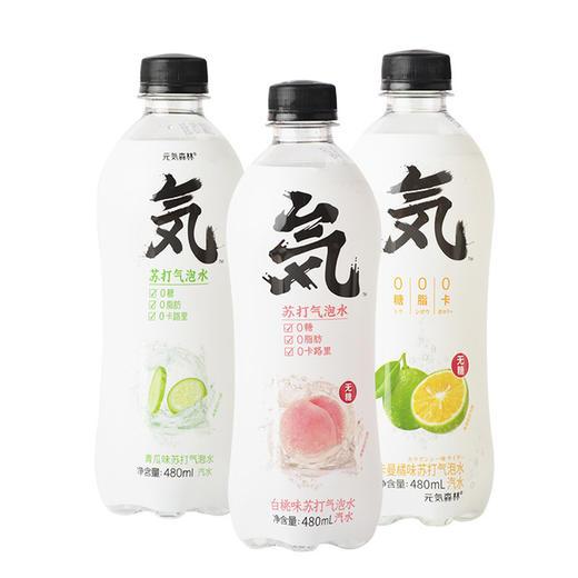 【元气森林苏打气泡水480ml】0糖0脂0卡 多口味网红汽水零食酒水茶饮系列 商品图1