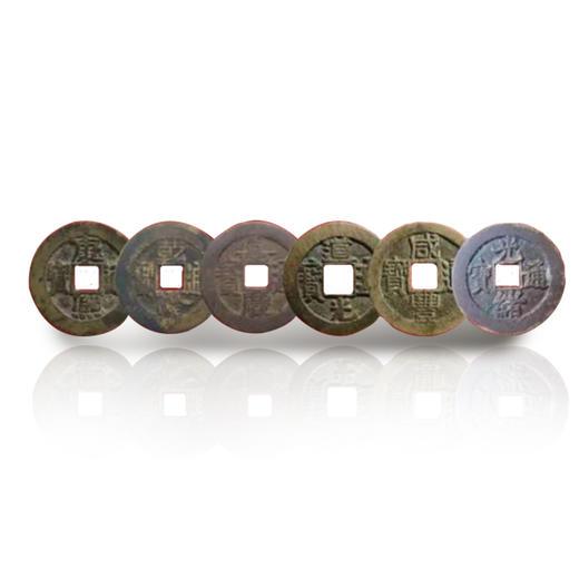 【故宫邮票】巍巍紫禁城117枚珍邮古钱币集藏册 商品图2