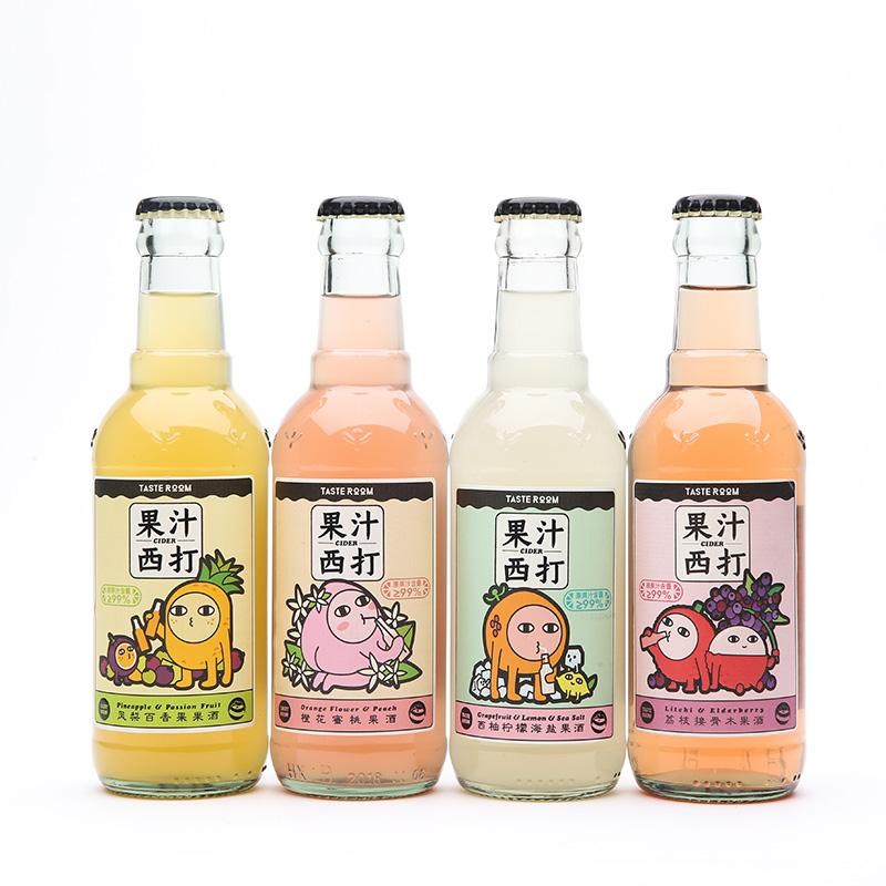 [Tasteroom果汁西打组合装] 西柚/凤梨/荔枝/蜜桃多种口味 商品图3