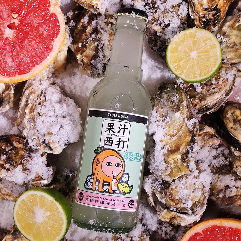 [Tasteroom果汁西打组合装] 西柚/凤梨/荔枝/蜜桃多种口味 商品图1