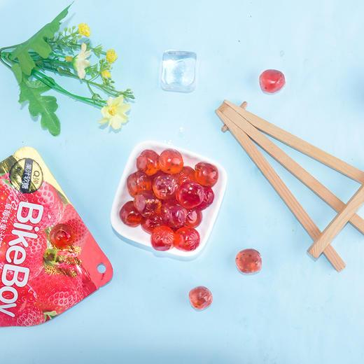 【半价特惠】江浙沪包邮 Bike Boy 果汁软糖 11.5元/5包 52G/包 5种味道各1包:白葡萄味 草莓味 红葡萄味 蜜桃味 香橙味 商品图8