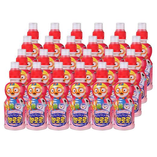 【半价特惠】江浙沪包邮 (进口)啵乐乐果味饮料 235ml/瓶 19.9元 8瓶 草莓味 蓝莓味 水蜜桃味 牛奶味 商品图4