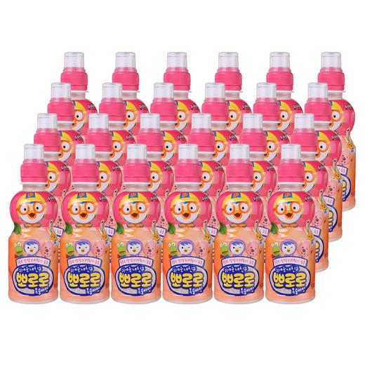 【半价特惠】江浙沪包邮 (进口)啵乐乐果味饮料 235ml/瓶 19.9元 8瓶 草莓味 蓝莓味 水蜜桃味 牛奶味 商品图0