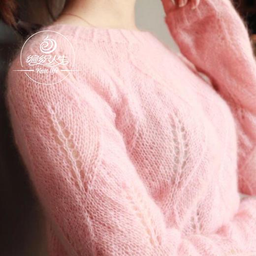 云团织NO.33叶子花轻盈套头衫 材料包非成品含图解无视频 商品图1