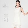 云团织NO.36夏舞无袖连衣裙5号蕾丝材料包含图解 商品缩略图1