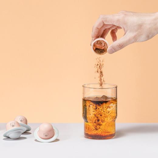 [冷萃冻干蜜桃乌龙茶咖粉]蜜桃乌龙茶+咖啡的自然融合  2.2g*12颗/盒 商品图2