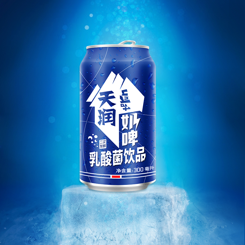 [天润奶啤]浓郁奶香 回味甘甜 300ml*12 商品图0