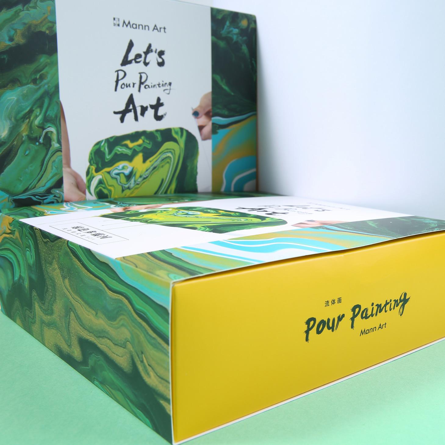 MannArt流体画手工DIY数字油画创意美术礼品盒 商品图3