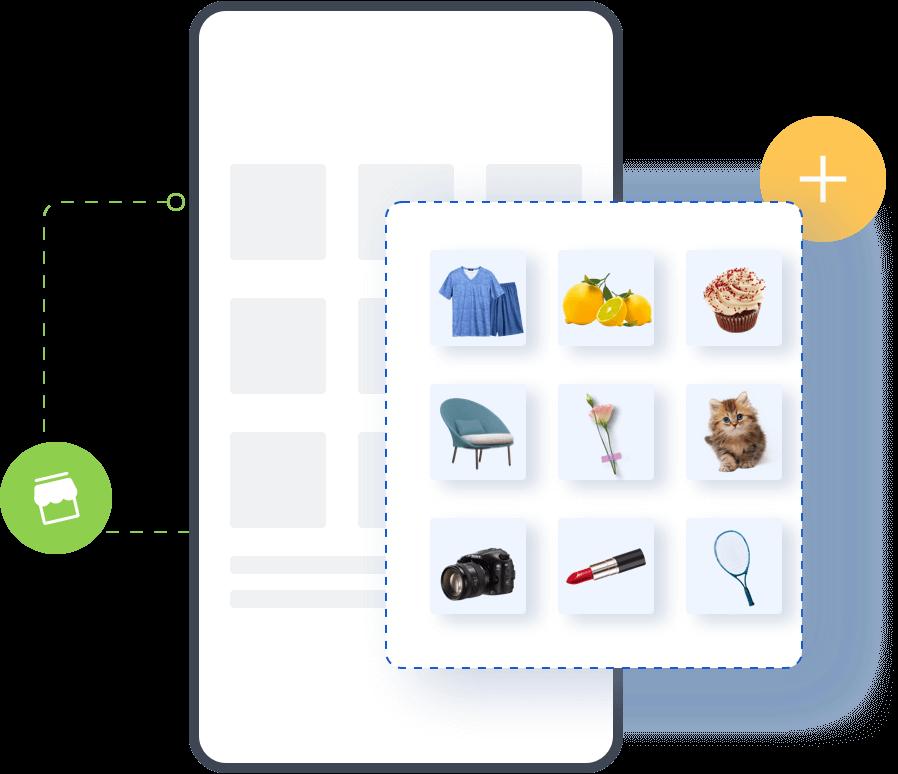搬商品: 一键整店铺货,提高运营效率