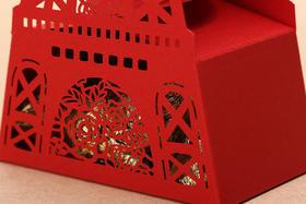 测试 原创镂空西式创意喜糖盒