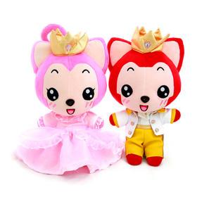 【尊贵款】阿狸王子公主毛绒,因为有爱,所以你最珍贵。
