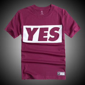 WWE 正品 丹尼尔·布莱恩Daniel Bryan YES FREE Sticker 短袖T恤
