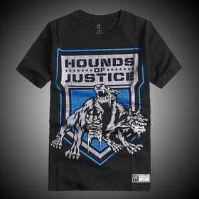 WWE 正品 圣盾The Shield Hounds of Justice 短袖T恤