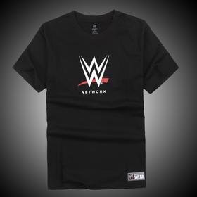 WWE正品 WWE 徽标 Network 短袖T恤