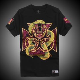 WWE正品 进化军团Evolution Back For Business 短袖T恤