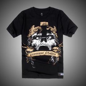 WWE 正品 Triple H Tremble Before The Hammer 短袖T恤