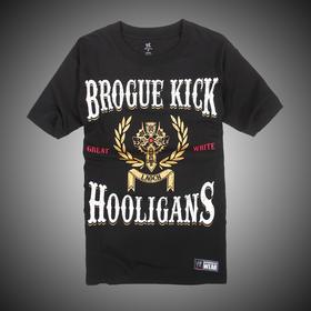 WWE 正品 希莫斯 Sheamus Brogue Kick Hooligans 短袖T恤