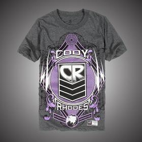 WWE 正品 科迪·罗兹Cody Rhodes to the Future 短袖T恤