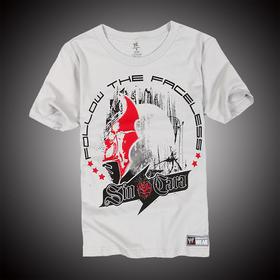 WWE 正品 辛卡拉Sin Cara Follow the Faceless 短袖T恤