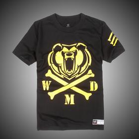 大秀哥Big Show Crossbones 短袖T恤