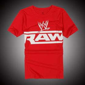 WWE 正品 徽标Monday Night Raw 短袖T恤