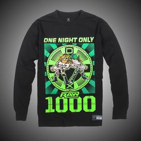 堕落世代X DX RAW 1,000 Men's 长袖T恤