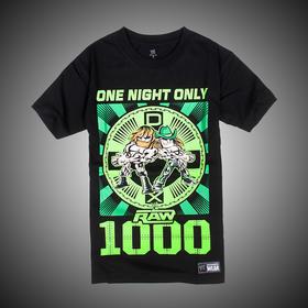 WWE 正品 堕落世代X DX RAW 1,000 Men's 短袖T恤