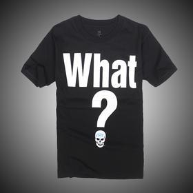 WWE 正品 奥斯汀Stone Cold Steve Austin What 短袖T恤