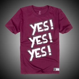 WWE 正品 丹尼尔·布莱恩Daniel Bryan Yes 短袖T恤