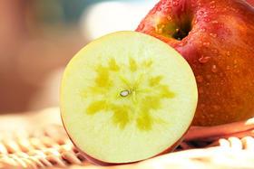 新疆阿克苏冰糖心苹果 整箱 毛重11斤左右