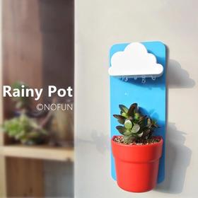 【为思礼 生态E园】云朵花盆Rainy Pot 创意壁挂式花盆 创艺生活植栽