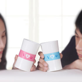 【为思礼 生活演异】心情杯 创意情侣杯 时尚创意生日表白礼物