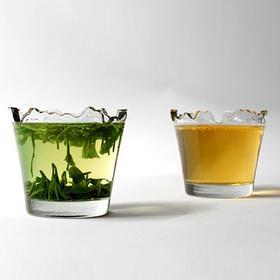 【为思礼】山水妖娆 创意玻璃杯(磨砂) 艺术创意 品味体现