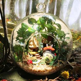 【为思礼 智趣屋】玻璃球DIY小屋 精灵部落 创意节日礼物 倾情珍贵生日礼物