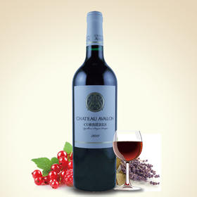 法国原装进口  阿瓦隆干红葡萄酒