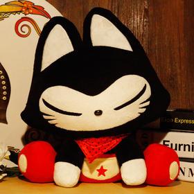 【为思礼 拽猫】可爱萌物公仔 毛绒抱枕 原创公仔 创意浪漫礼物