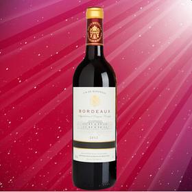 法国原装进口  波尔多美名腾干红葡萄酒