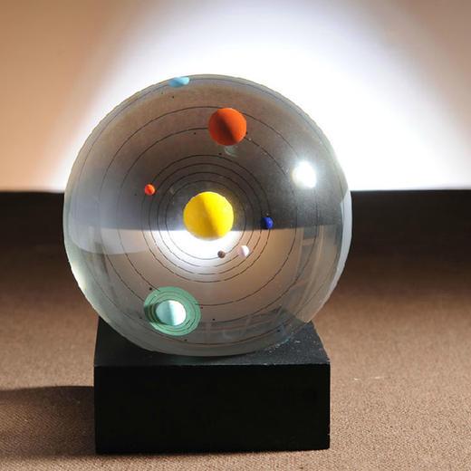 【为思礼 ZOYO】八大天体水晶球 水晶摆件 创意时尚家居摆饰 商品图1