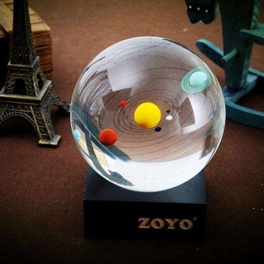 【为思礼 ZOYO】八大天体水晶球 水晶摆件 创意时尚家居摆饰 商品图2