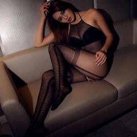 8824透视装透明成人性趣连体丝袜女王连裤袜套装