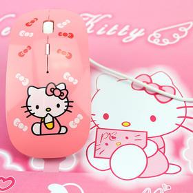 hello kitty有线鼠标